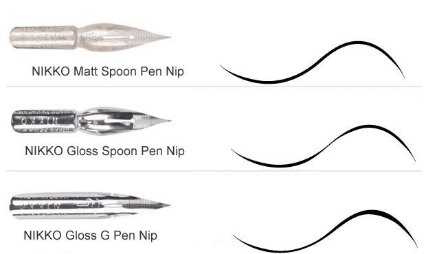 pen-point-nib-manga-drawing